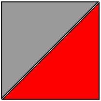 Women's Tee - Gray/Red