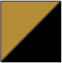 Standard Tee - Khaki/Black