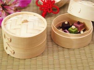 Mini Bamboo Steamers Set of 4