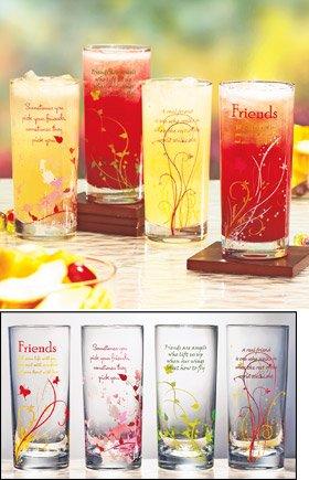 Friendship Glasses set of 2