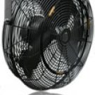 "Misting Fan 18"" , Outdoor Rated, 3 Speed Control,Black , (MDF18BL)"