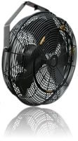 """Misting Fan 18"""" , Outdoor Rated, 3 Speed Control,Black , (MDF18BL)"""