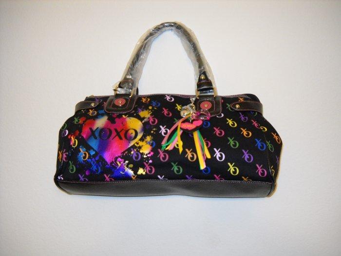 XOXO �Cirque� Black Hand Bag (Medium Size)