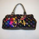 """XOXO """"Cirque"""" Black Hand Bag (Medium Size)"""