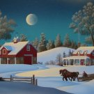 JIM BUCKELS WINTERSET FARM Snow Full Moon Seri HS&#