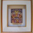 Michael ElKayam~NOAH'S ARK~Jewish 3D Rizzi gold framed