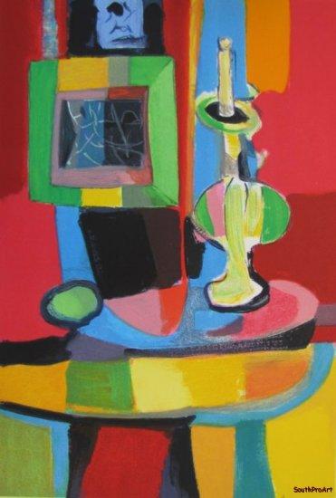 MARCEL MOULY STILL LIFE Paris France Picasso HS AP