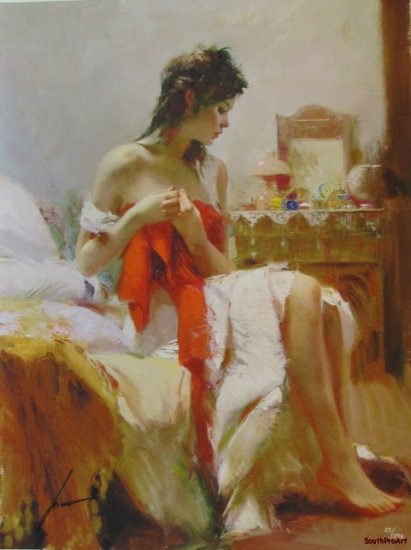 DAENI PINO EXPECTATION HS&# Royo nude negligee COA HS&#
