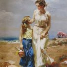 DAENI PINO BY THE SEA CANVAS ocean Mother HS# Beach