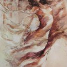 GARY BENFIELD RENAISSANCE nude English Treby CANVAS