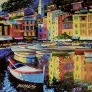 PORTOFINO HOWARD BEHRENS EMBELL CANVAS Italy /40