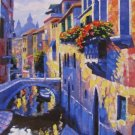 VENICE HOWARD BEHRENS EMBELLISHED CANVAS Italy