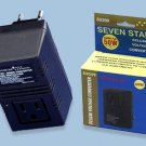 Seven Star 50 Watt Converter Fuse Protected Voltage Converter SS209 220 Volt To 110 Volt