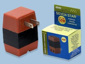 50W Watts Reverse Voltage Converter Sevenstar SS-202 Step Up Converter