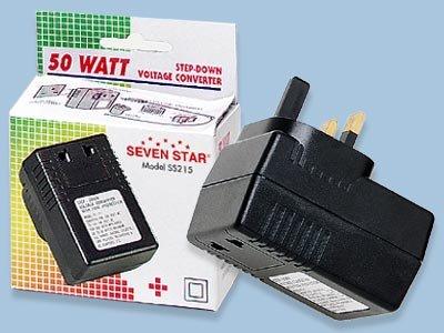 Sevenstar 50 Watt UK Voltage Converter SS-215 50W Converter For Use in UK