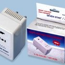50W-1650W Watt Voltage Converter with Low-High Wattage Selector