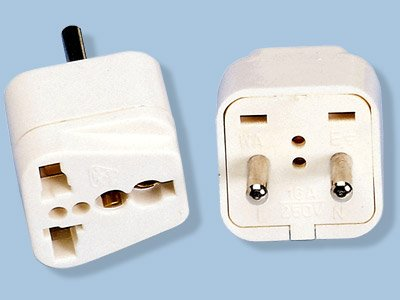 Asia/Europe 220V Plug Adapter- Universal Socket for Most Types Of Plugs