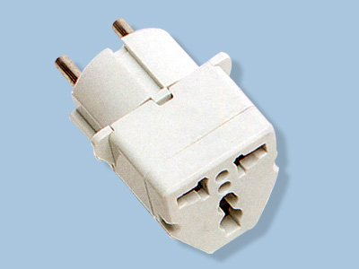 Germany/France Universal Plug Adapter For Use in Germany/France