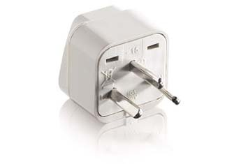 Universal Plug Adapter for Israel IS-400 - Universal Socket Output Accepts Most Types Of Plug