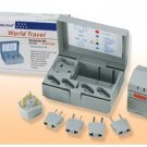 International Travel Voltage Converter Kit  with Storage Case