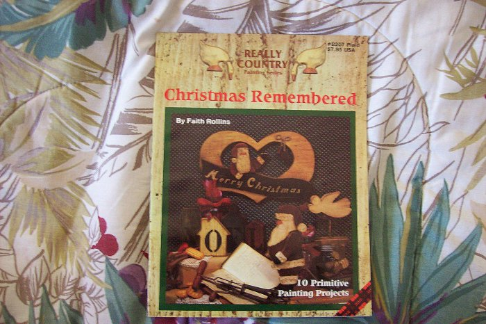 Painting Projects Booklet Christmas Remembered 10 Projects