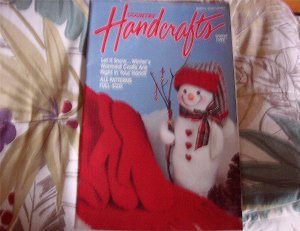 Country Handcrafts Book Back Issue Winter 1993 All Patterns Full Size