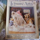 Leisure Arts Magazine w/30 Projects Cross Stitch, Knit & Crochet Etc.