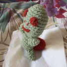 Turtle Pin Cushion or Computer Buddy Hand Crochet