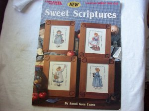 Leisure Arts Leaflet #2291 Sweet Scriptures Cross Stitch