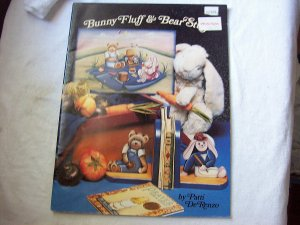 Bunny Fluff & Bear Stuff Patterns to Paint & Make Dated 1989
