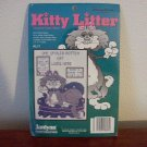 "Counted Cross Stitch Kit w/Frame ""Kitty Litter"""