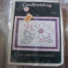 Candlewicking Kit Flower New Unopened Package Vintage