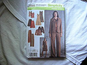 Simplicity Easy Chic Sewing Pattern #3566