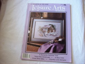Leisure Arts Back Issue Dated June 1988 36 Pages Loaded with Patterns