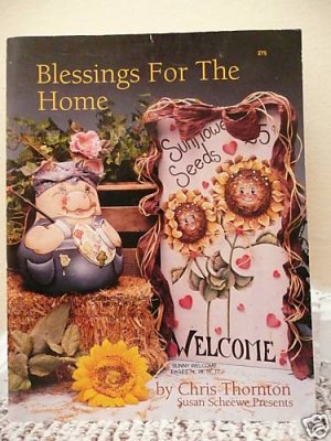 Blessings For the Home Chris Thornton Paint Book 1993