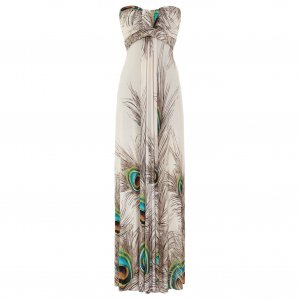 Evening Maxi Dress on Long Summer Evening Holiday Beach Maxi Dress Uk 12 14  Us 8 10