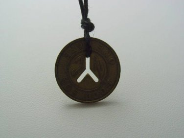 Ravenswood Brass Necklace Seen in Pretty Little Liars Ezra Tries To Give This To Aria For Luck