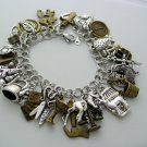 Ultimate Outlander Charm Bracelet 41 Charms