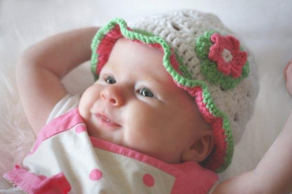 Addison Summer/Spring Adorable Baby Hat