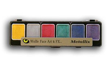 Wolfe FX - Metallix - Face Paint - Halloween Makeup