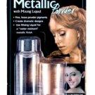 Mehron Mixing Liquid and Metallic Powder - Gold