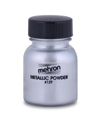 Mehron Metallic Powder Silver Makeup Effects
