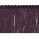 "5 yards 2"" Eggplant Purple Chainette Fringe Trim"