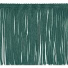 "6"" Teal Green Chainette Fabric Fringe Trim By the Yard"