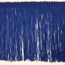 "By the yard-6"" Royal Blue DOUBLE STRAND Chainette Fringe by the Yard Lamp Home Decor Trim"