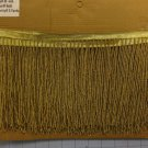 "5 yard Bolt-6.5"" GOLD Glass SEED BEAD Beaded Fringe Lamps, Costumes, Crafts"