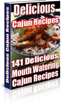 Delicious Cajun Recipes Digital Cookbook