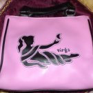 "Pink ""Virgo"" Zodiac Handbag Purse"