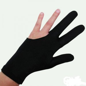 Trendy 3 Finger Pool Billiards Cue Glove Lady Gaga