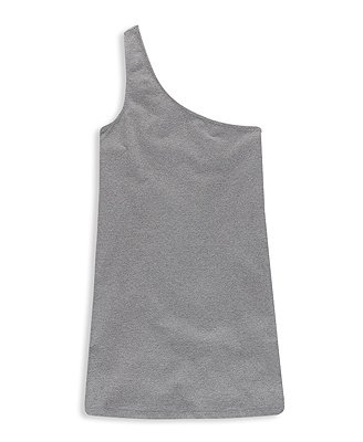 F21 Forever 21 Heritage 1981 Gray One Shoulder Top (M)